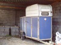 horse trailer for repairs