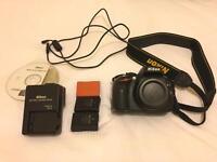 Nikon D5100 body & accessories