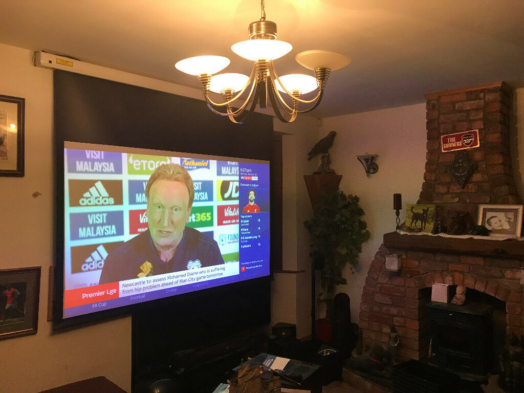 Grab a high quality Home Cinema bargain - Projector and Screen | in  Dundonald, Belfast | Gumtree