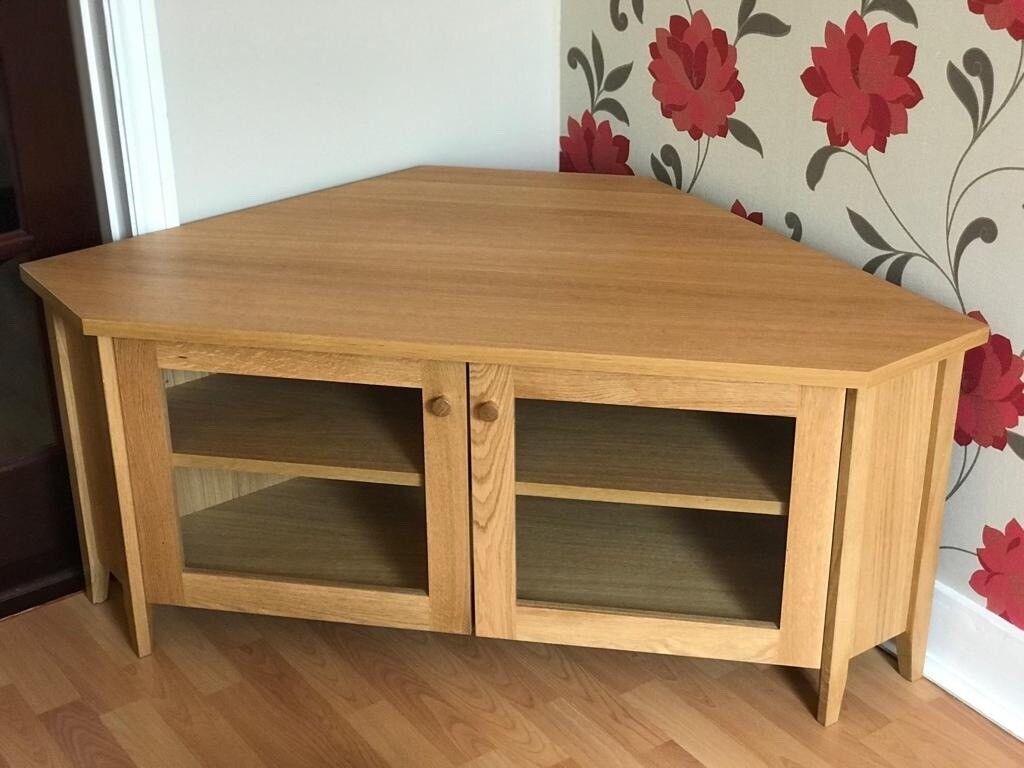 Oak Effect Corner Tv Cabinet Ikea