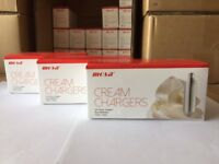 Mosa Cream chargers available per box or bulk free delivery