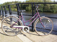 Ladies 3 Speed Raleigh Caprice Town Bike good cheap bicycle student commuter leeds