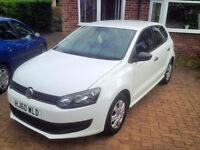 White VW Polo in excellent condition. Full service history. Private Seller.