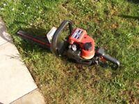 Homelite petrol hedge trimmers