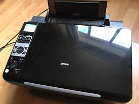 Epson printer/scanner with colour ink cartridges