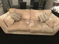 2x Large Two Seater Sofas