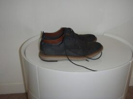 Mens navy casual shoes size 9