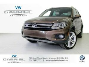 2015 Volkswagen Tiguan HIGHLINE RLINE JAMAIS ACCIDENTE! R LINE !