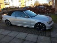 BMW 318i se m:///sport convertible 56 reg 89,000 miles full service history and full year MOT