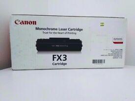 Canon FX-3 - black - original - toner cartridge