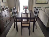 Ikea dining table & 2 chairs *MINT condition*