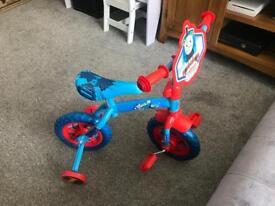 Thomas tank bike