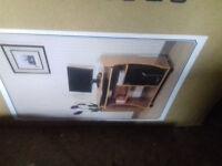 Pine trolley desk... New...Still in box...Argos