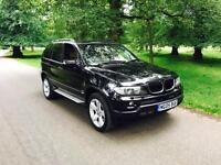 2005 BMW X5 3.0 D Sport Sapphire Black Metallic