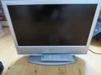"Sony Bravia 20"" flat screen TV"