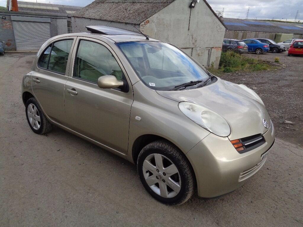 2004 nissan micra 1 2 se 5 door hatchback gold in denholme west yorkshire gumtree. Black Bedroom Furniture Sets. Home Design Ideas