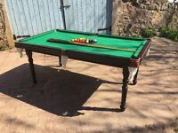 Snooker Table Good Condition 112cm x 198cm