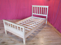 NEW ***REDUCED*** Oak Wood Thornton Single Bed Frame - Not Steel, Not Leather