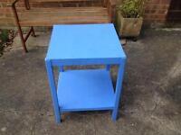 Wood table/storage