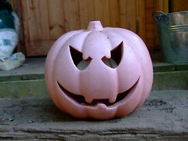 Pottery Pumpkin, could do with a clean/paint