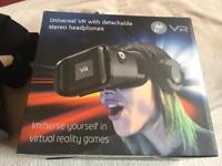 goji universal vr virtual reality headset brand new in box £4