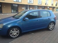 VW GOLF 2.0 GT TDI DIESEL 6 SPEED MOT MAY 2019 LOTS OF SERVICE HISTORY A CHEAP CAR TO RUN