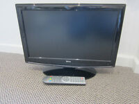 flat screen tv 19 inch with remote