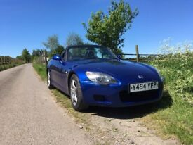 2001 S2000 only 70000 miles MonteCarlo Blue (the best)