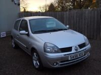 RENAULT CLIO 2006 56 PLATE 1.2 LTR PETROL ONLY 64000 MILES 1 YEAR MOT WARRANTIED CLEAN CAR!!!