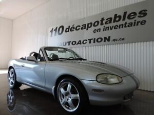 2000 Mazda Miata DÉCAPOTABLE - ROLL BAR - MANUEL