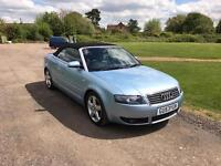Audi A4 convertible 2.4 2003 manual cabriolet VERY CHEAP