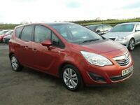 2011 Vauxhall Meriva 1.7 CDTI SE low miles, motd June 2021 all cards welcome