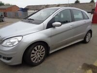 BREAKING MERCEDES B-CLASS CDI 2007 - ALL SPARES AVAILABLE - DOOR? BUMPER? TAILGATE? ALLOYS? SEAT?