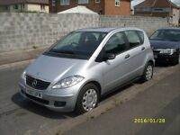 mercedes a class 2007 diesel new mot fully serviced new pads and discs all round