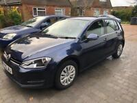 VW Golf 2013 bluemotion