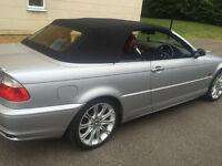 BMW 3 SERIES 325Ci Convertible (M PERFORMANCE) X REG