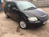 chrysler grand voyger 2006 56 plate 2.8 crd lx auto 7 seater facelift service history
