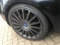 """18"""" focus st alloys with tyres"""