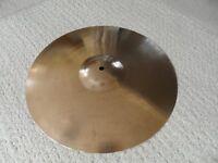 "Vintage 1960's Paiste Stambul 16"" crash cymbal - made in Switzerland"
