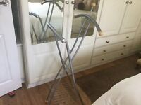 VALET STAND FOR SUITS ETC. WITH SHOE RACK