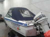 15ft speed boat,bowrider.
