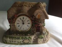 Original memory lane cottage clock (Made in England) by Peter Tomlin