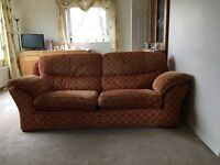 2 piece suite - one 3 seater and one 2 seater sofas