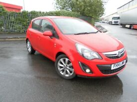 2014 VAUXHALL CORSA 1.2 EXCITE 5 DOOR LOW MILEAGE CHEAP TO RUN NICE CONDITION