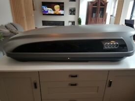 Genuine Audi Roof Box and Roof Bars Excellent Condition