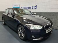 AUGUST 2017 BMW 116d M-SPORT STEP AUTOMATIC [NAV] STUNNING ! GREAT SPECIFICATION !