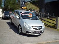 Vauxhall Corsa 1.2 Low Miles 49K Free 6 Months Warranty. Ready to go!