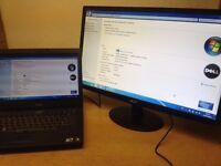 DELL LAPTOP CPU INTEL I5 2.67 /RAM 4GB /DP HDMI/WINDOWS 7/OFFICE 2013