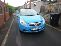 ex british gas corsa van very tidy in and out