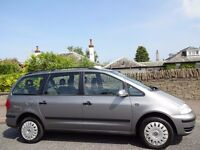 *NOW SOLD* 12 MONTH WARRANTY! (05) VW SHARAN 1.9 TDi SE AUTO One Owner- Low Mileage- Service History